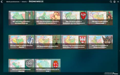 ŚREDNIOWIECZE – mapy w komplecie