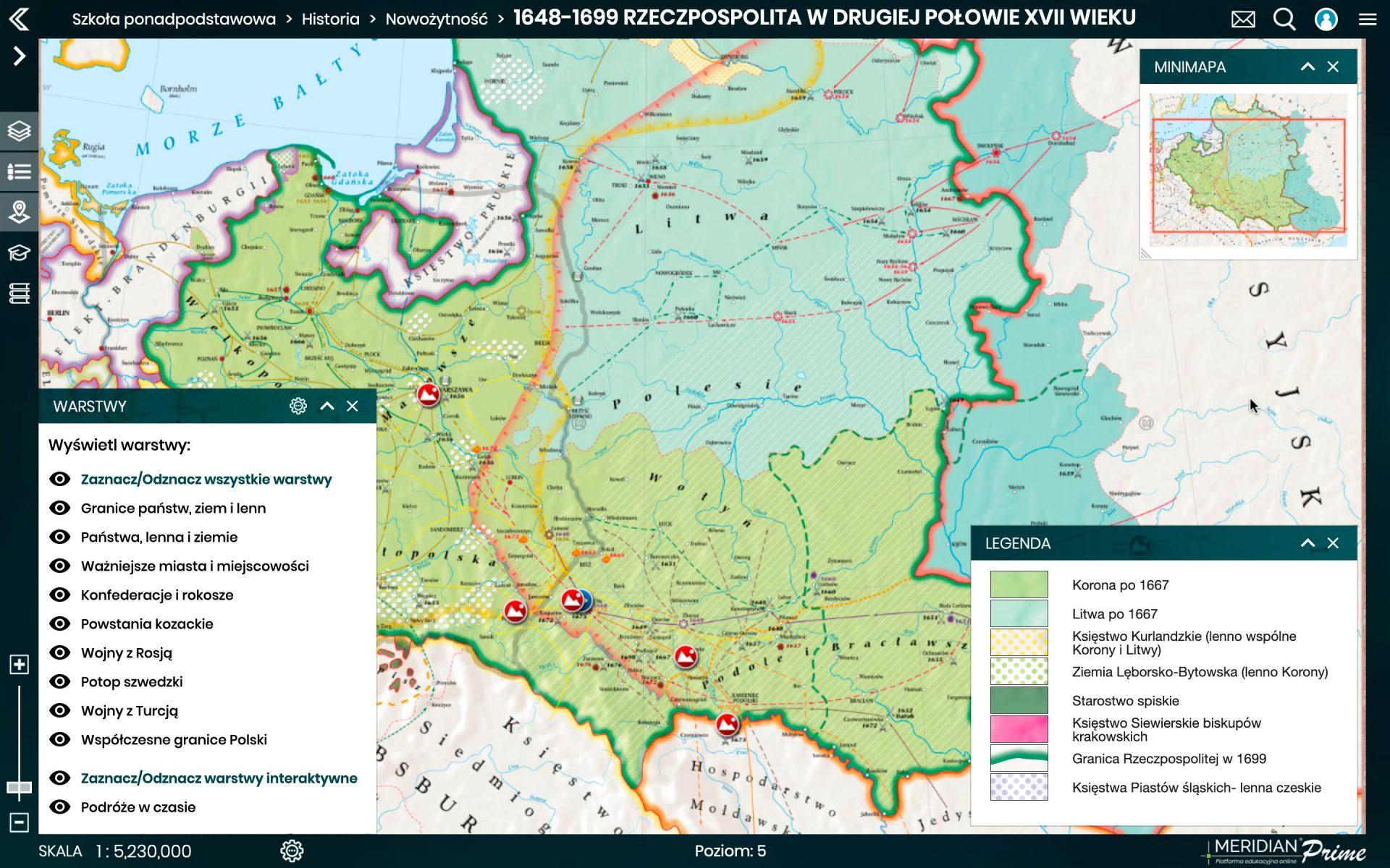 1648 1699 Rzeczpospolita w II pol XVIIw