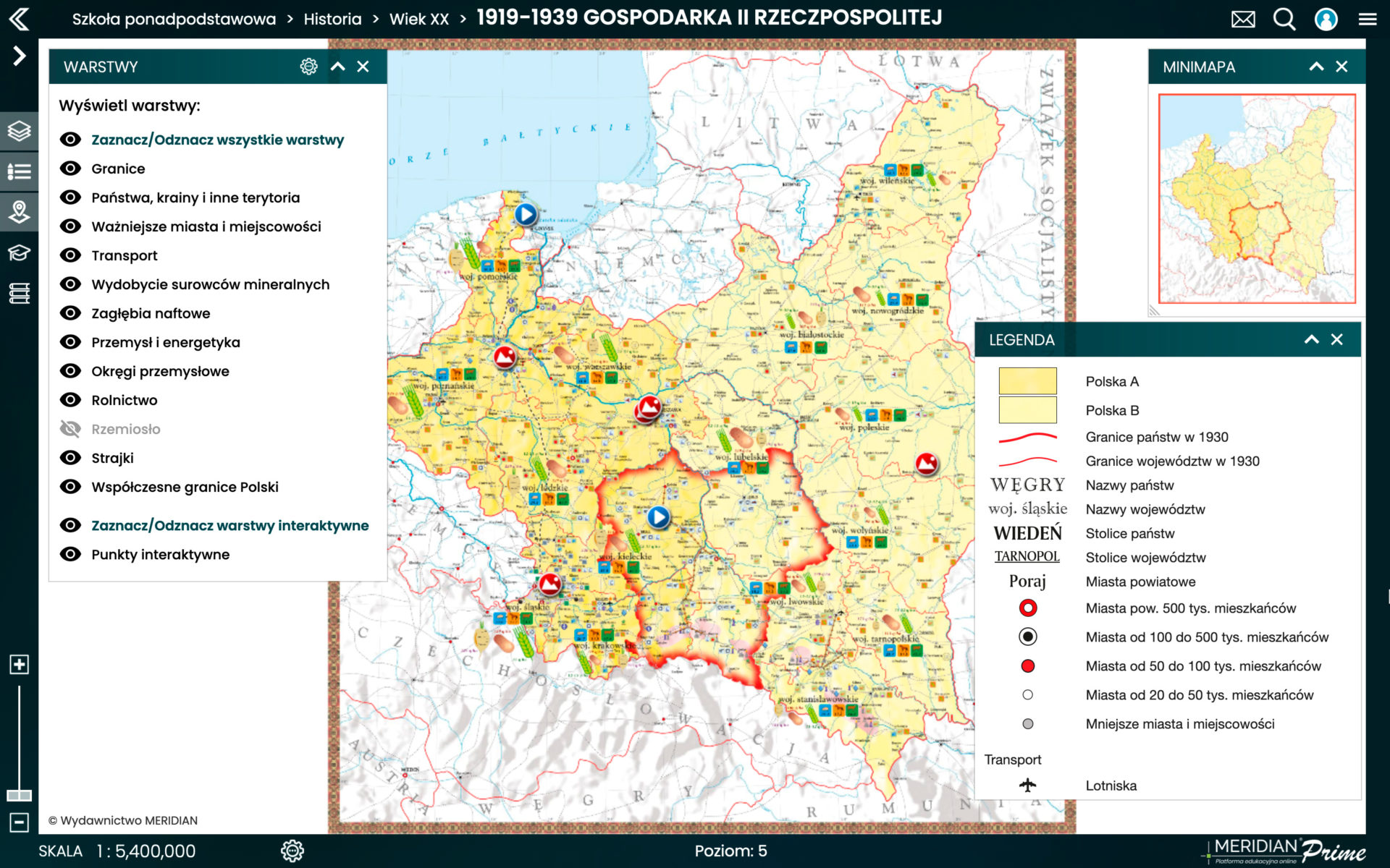 1919-1939 Gospodarka II Rzeczypospolitej